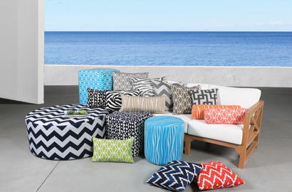 Outdoor Cushions & Pillows Collection