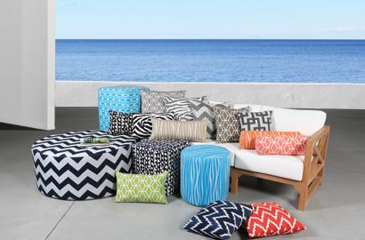 Outdoor Cushions & Pillows Collection