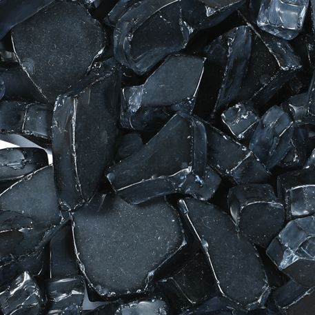 Black Ice Fireglass